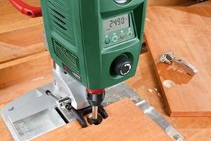 Bosch Tischbohrmaschine digital